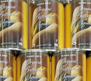 Trader Joe's Canned Organic Butternut Squash