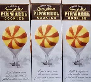 Trader Joe's Cocoa Filled Pinwheel Cookies