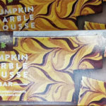 Trader Joe's Pumpkin Marble Mousse Bar