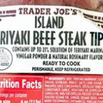 Trader Joe's Island Teriyaki Beef Steak Tips