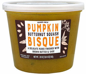 Trader Joe's Pumpkin Butternut Squash Bisque