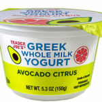 Trader Joe's Avocado Citrus Whole Milk Greek Yogurt