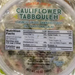 Trader Joe's Cauliflower Tabbouleh
