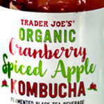 Trader Joe's Organic Cranberry Spiced Apple Kombucha