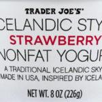 Trader Joe's Icelandic Style Strawberry Nonfat Yogurt