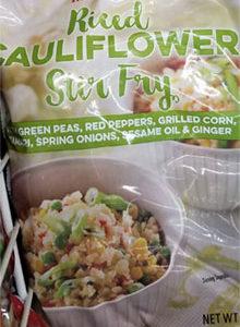 Trader Joe's Riced Cauliflower Stir Fry