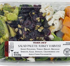Trader Joe's Salad Palette Turkey Harvest