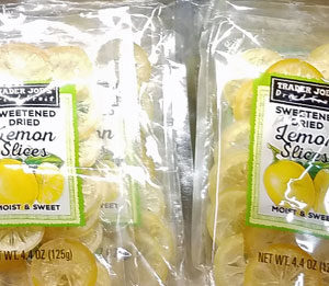 Trader Joe's Sweetened Dried Lemon Slices