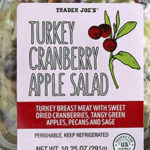 Trader Joe's Turkey Cranberry Apple Salad