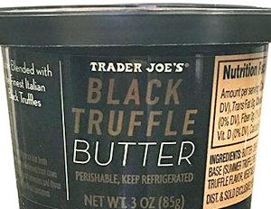 Trader Joe's Black Truffle Butter