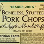 Trader Joe's Boneless Stuffed Pork Chops with Apple Almond Stuffing
