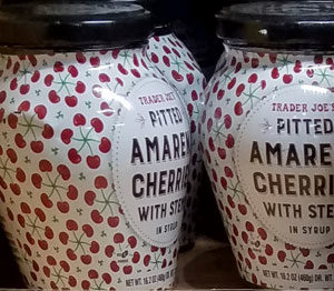 Trader Joe's Pitted Amarena Cherries with Stems