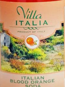 Villa Italia Blood Orange Soda