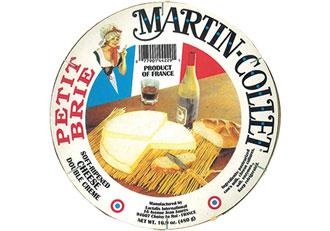 Martin-Collet Double Crème Brie