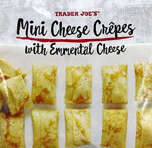 Trader Joe's Mini Cheese Crepes with Emmental Cheese