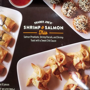Trader Joe's Shrimp & Salmon Trio