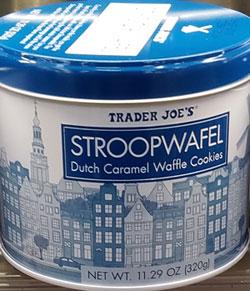 Trader Joe's Stroopwafel Dutch Caramel Waffle Cookies