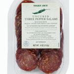 Trader Joe's Uncured Three Pepper Salami