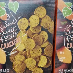 Trader Joe's 3 Seed Sweet Potato Crackers