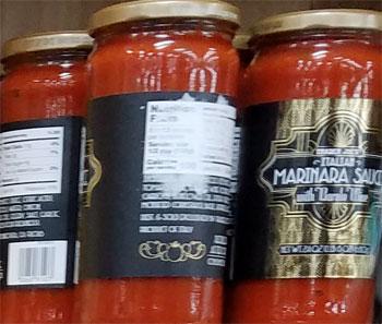 Trader Joe's Italian Marinara Sauce with Barolo Wine