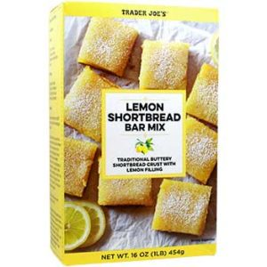 Trader Joe's Lemon Shortbread Bar Mix