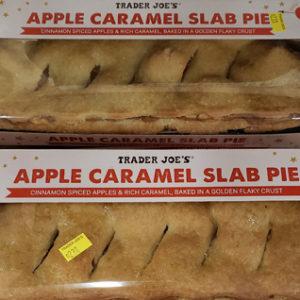 Trader Joe's Apple Caramel Slab Pie