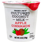 Trader Joe's Apple Cinnamon Cultured Coconut Milk