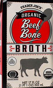 Trader Joe's Organic Beef Bone Broth