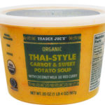 Trader Joe's Organic Thai-Style Carrot & Sweet Potato Soup