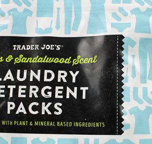 Trader Joe's Citrus Sandalwood Laundry Detergent Packs