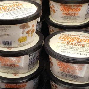 Trader Joe's Mushroom Medley Alfredo Sauce