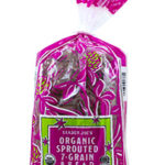 Trader Joe's Organic Sprouted 7-Grain Bread