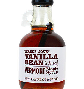Trader Joe's Vanilla Bean Infused Vermont Maple Syrup