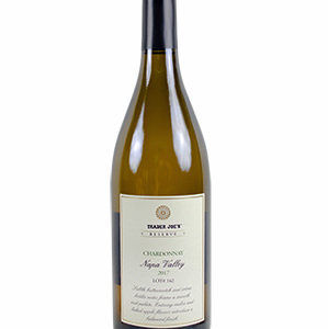 Trader Joe's Reserve Chardonnay Napa Valley Wine