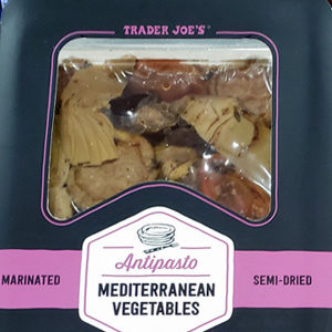 Trader Joe's Antipasto Mediterranean Vegetables