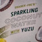 Trader Joe's Sparkling Coconut Water with Yuzu