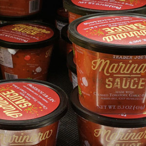 Trader Joe's Refrigerated Marinara Sauce