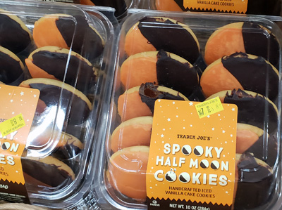 Trader Joe's Spooky Half Moon Cookies