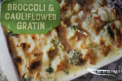 Trader Joe's Broccoli Cauliflower Gratin