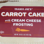 Trader Joe's Carrot Cake with Cream Cheese Frosting