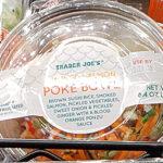 Trader Joe's Smoked Salmon Poke Bowl