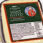 St Illtyd Cheddar Cheese with Garlic, White Wine & Parsley