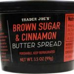 Trader Joe's Brown Sugar & Cinnamon Butter Spread