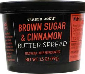 Trader Joe's Brown Sugar & Cinnamon Butter Spread