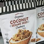 Trader Joe's Organic Coconut Sesame Seed Clusters