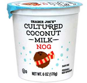 Trader Joe's Cultured Coconut Milk Nog