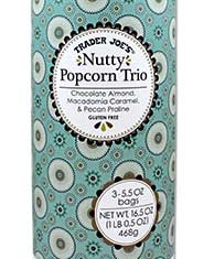 Trader Joe's Nutty Popcorn Trio