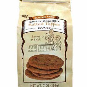 Trader Joe's Gluten Free Salted Toffee Cookies