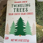 Trader Joe's Twinkling Trees Sugar Coated Sugar Cookies