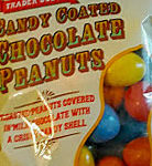 Trader Joe's Candy Coated Chocolate Peanuts